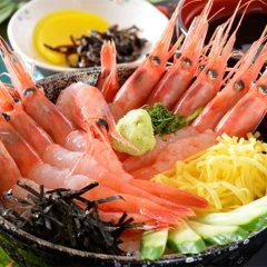 Deep-Water Shrimp Rice Bowl: ¥1,080