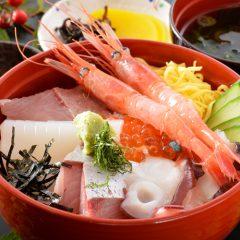 Sashimi Rice Bowl: ¥1,650