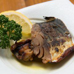 Mackerel Pickled in Rice Bran: ¥650