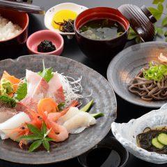 Sashimi Meal: ¥2,200