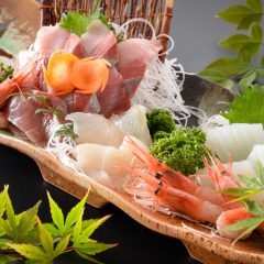 Assortment of Sashimi: ¥1,600~