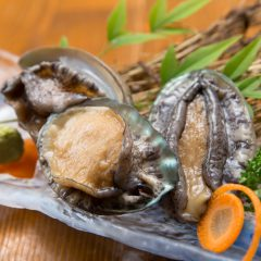 Abalone Sashimi: ¥1,200 – ¥4,000