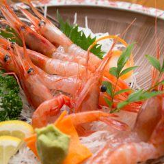 Deep-Water Shrimp Sashimi: ¥1,750