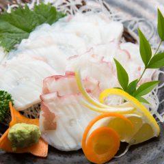 Octopus Sashimi: ¥1,080