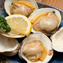 Clam for 1 person: ¥1,000