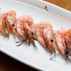 Grilled Deep-Water Shrimp Skewer: ¥430