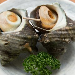 Grilled Turban Shells for 1 person: ¥1,300