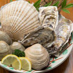Full Shellfish Course: ¥3,800