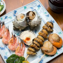 Grilled Shellfish Meal: ¥2,400