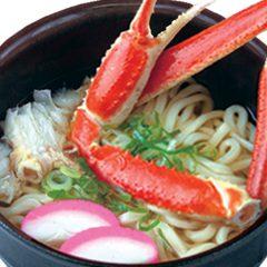 Crab Udon: ¥1,080