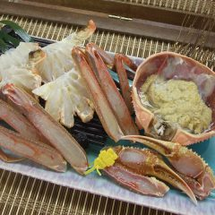 Echizen Snow Crab Hot Pot Set with Vegetables (for 2 people) Medium size, 1 crab: from ¥18,500