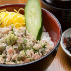Tuna and Green Onion Rice Bowl: ¥1,080