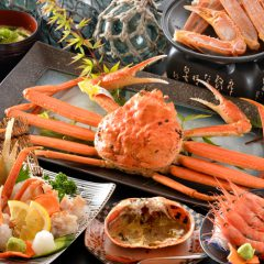 Port Of Mikuni Echizen Crab full course meal Echizen Crab: Acording To Season