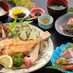 Grilled Fish Meal:¥1,620