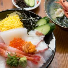 海鮮丼なぎさ汁付 3,300円
