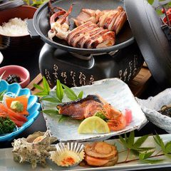 浜焼(焼き魚)御膳 2,500円